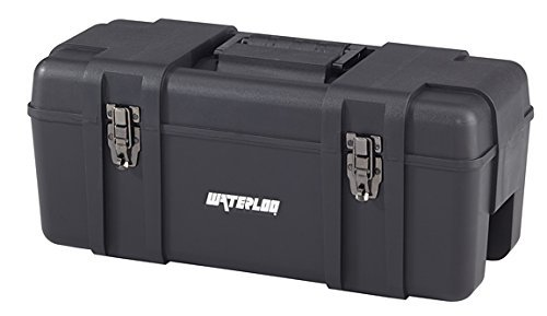 Waterloo Portable Series Tool Box made with Lightweight Industrial-Strength Plastic, 23 by Waterloo -
