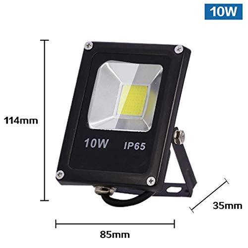 Bewegungssensor LED Flutlicht IP65 Wasserdicht 50W 30W 10W Reflektor Flutlicht Lampe AC 220V foco LED Außenstrahler Outdoor, 10W_Cold_White - Outdoor-reflektor Flutlicht Lampe