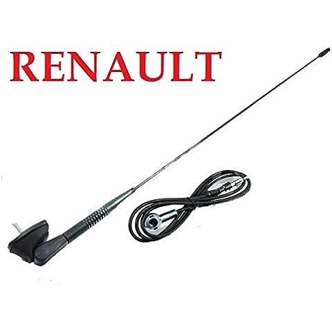 Renault Clio Megane Laguna Scenic Kangoo techo Antena con antena Soporte & Junta