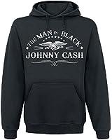 Johnny Cash The Man In Black Kapuzenpulli schwarz
