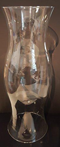 Photophore Grand Cylindre en verre clair, verre soufflé, décoratif Cylindre, verre en cristal, ouverture en haut et en bas env. 14,3 cm, hauteur env. 40 cm sans colonel dorfer Verre Niche