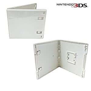 Link-e ®: Set of 10 white replacement boxes for Nintendo 3DS games