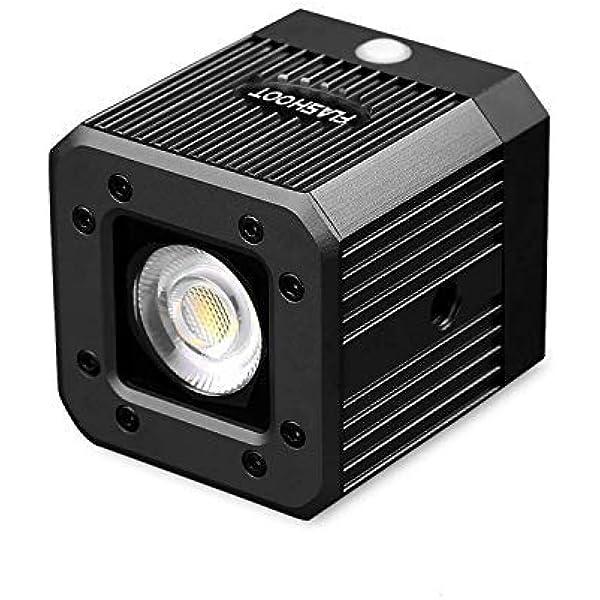 Fotowelt Cube Led Videolicht Mit 1 Kamera