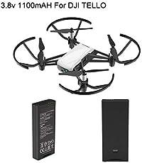 TELLO DJI Ryze Drone with 2 Extra Intelligent Battery 1100mAh 3.8V 4.18Wh