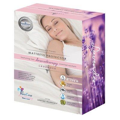 PureCare by Fabrictech Aromatherapie fünfkant-Matratzenschoner Tiefe: 20,3-34,3cm Größe: Queen -