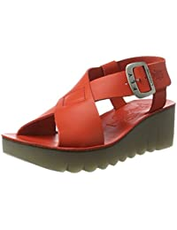 Ypul799fly, Sandales Bout Ouvert Femme, Argent (Silver), 41 EUFLY London