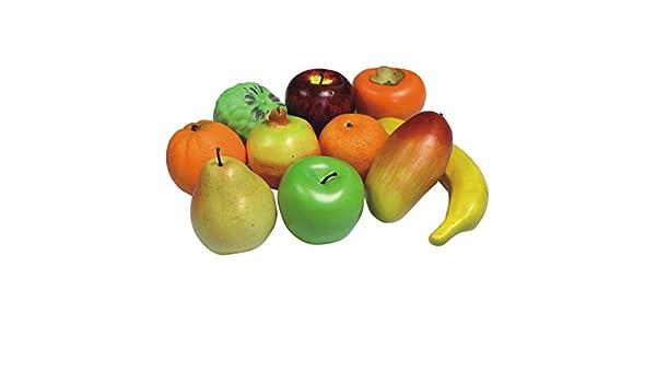 Dekoobst künstliches Obst 10 versch Obstsorten hochwertige Qualität