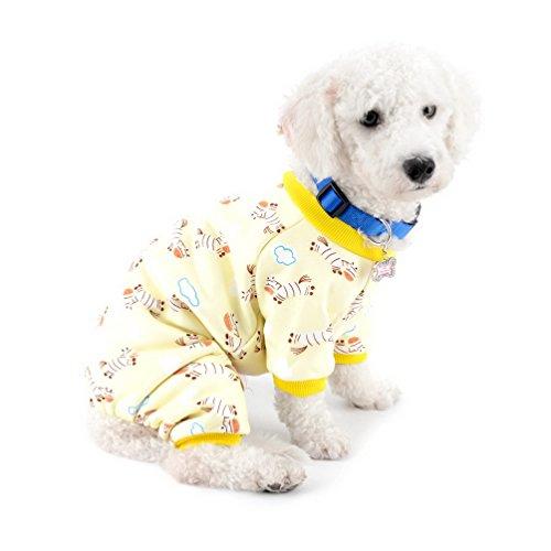 selmai Kleiner Hund Winter Schlafanzüge Fleece gefüttert Zebra Pet Puppy Hund Innen Jumpsuit Coat Dackel Chihuahua Kleidung Outfits Apparel