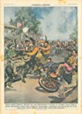Durante una gara motociclistica in Sicilia, corridore sorpreso mentre disseminava chiodi sulla strada per danneggiare i pneumatici dei concorrenti.