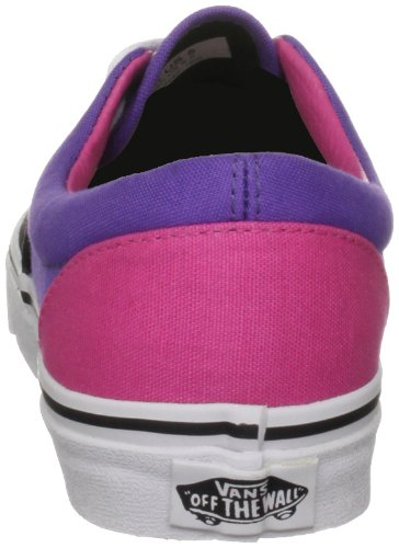 Vans Era Unisex-Erwachsene Sneakers (Tri-Tone) Black/Purple/Pink