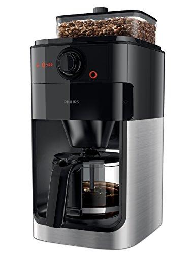 Philips Grind & Brew HD7767/00 Filter Kaffeemaschine (Mahlwerk) edelstahl/schwarz
