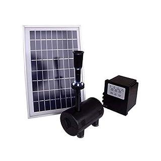 800LPH Solar Power Pump with LED light