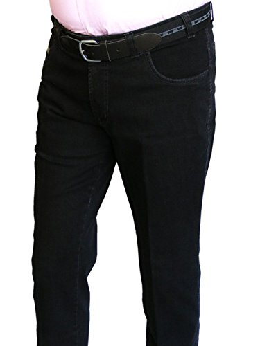 Unterbauchjeans Ben blue/black stone washed