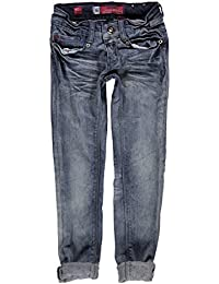 Blue Rebel Fille Jean moulant PYRIET dalton wash, Bleu, taille 104