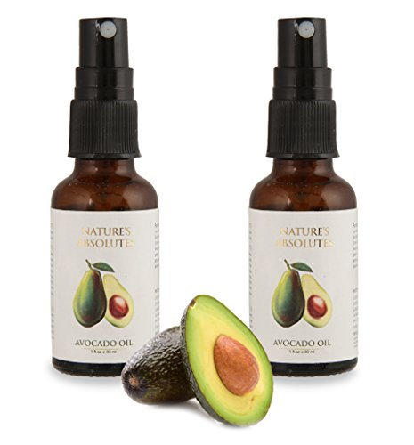 Avocado Oil (30ml x 2) Combo Pack of 2 Pcs from Nature's Absolutes – 100% Pure Organic, Premium Oil
