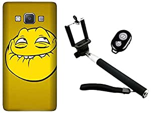 APE Back Cover and Selfie Stick for Samsung Galaxy Grand Max G7200