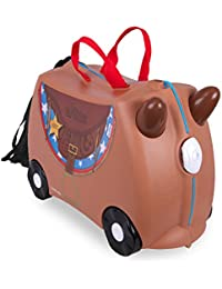 Trunki Ride-on Suitcase Bagage enfant 0183-GB01, 46 cm, 18 L, Marron