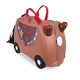 Trunki Ride-on Suitcase Equipaje infantil 0183-GB01, 46 cm, 18 L, Marrón