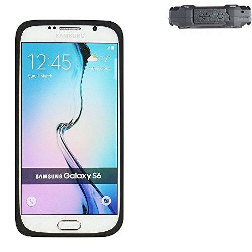 K-S-Trade Für simvalley Mobile SPT-210 Silikonbumper/Bumper aus TPU für simvalley Mobile SPT-210, schwarz Schutzrahmen Schutzring Smartphone Case Hülle Schutzhülle für simvalley Mobile SPT-210 - K-S