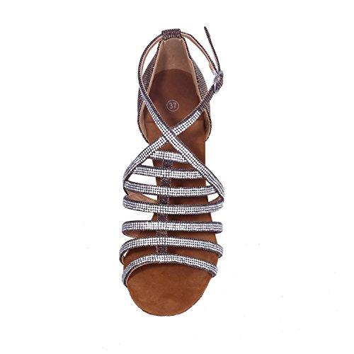 H2id9we Danse De Satin Pour Latin Fine Chaussures Taille Femmes Ballroom H9EDW2I