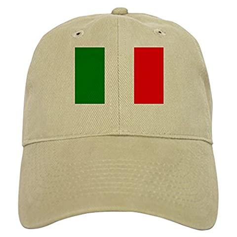 CafePress - Italy Cap - Baseball Cap with Adjustable Closure, Unique Printed Baseball Hat