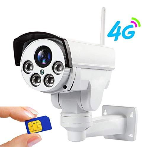 960P 3G 4G SIM Karte Kamera WiFi Outdoor PTZ HD Kugel Kamera Wireless IP Überwachungskamera IR 50M 5X Zoom Auto Fokus 32G TF Karte CCTV Kamera Überwachungskamera Rotierend