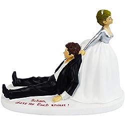 """Spardose Hochzeit für lustiges Geldgeschenk zum Verschenken von Geld für das Brautpaar. Tolle Geschenkidee für ein witziges Hochzeitsgeschenk. Hochzeitspardose mit Spruch """"Schön, dass Ihr Euch traut"""". Hochzeitsparschwein mit Schloss und Schlüssel. Sparschwein Sparbüchse Geschenk"""