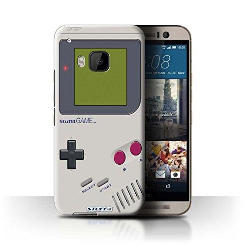 Stuff4® Hülle/Hülle für HTC One/1 M9 / Nintendo Game Boy Muster/Spielkonsolen Kollektion M9 Mobile
