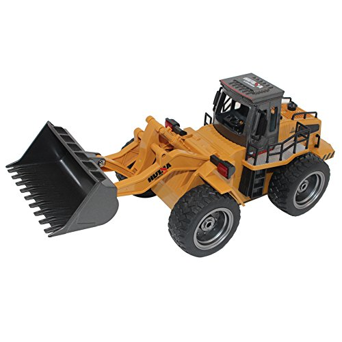 Per 1:18 2.4G Alloy Distant Management Automotive 6 Channel Buggy Kids Toy USB Rechargeable (Bulldozer)