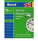 BOND 10 MINUTE TESTS 10-11 YEARS VERBAL REASONING