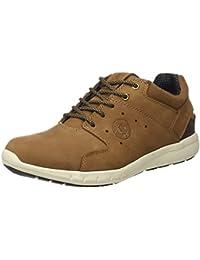 Coronel Tapioca Sport Taupe/Marron Caballero, Zapatos de Cordones Brogue para Hombre