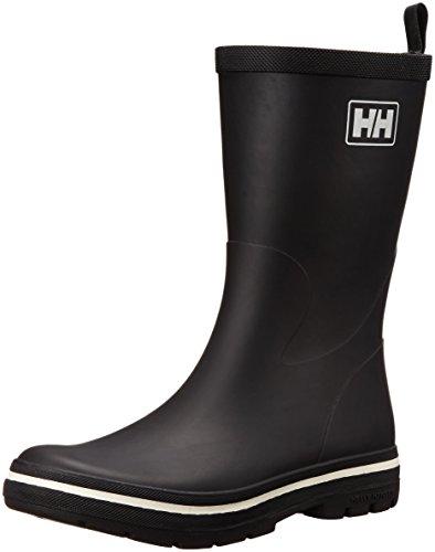 Helly Hansen Midsund 2, Stivali di Gomma Uomo, Nero (Black / Off White 990), 41 EU