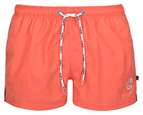 bugattir-mens-short-swimming-shorts-in-green-navy-red-black-or-turquoise
