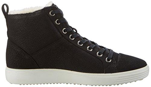 Ecco Soft 7, Sneakers Basses Femme Schwarz (2001BLACK)