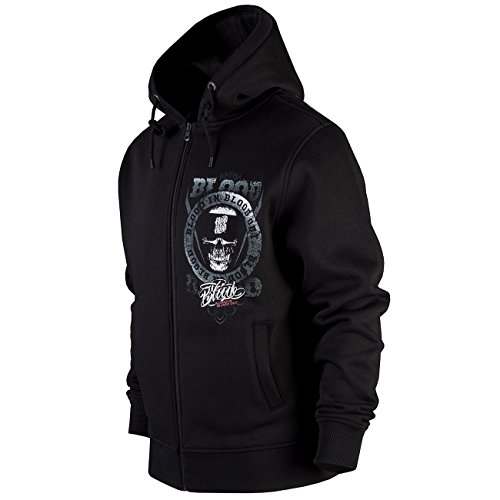 Blood In Blood Out Zip Hoody Life's a Risk III schwarz