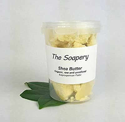 Shea butter 250g - Certified Organic, Unrefined, Raw, Natural - 100% Pure from The Soapery