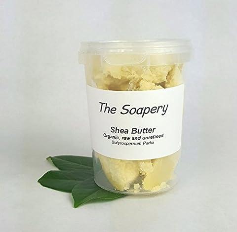 Sheabutter 250g - Bio, unraffiniert, roh, natürlich - 100% (Nutriente Lavare A Mano)