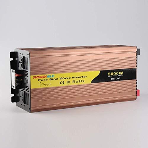 GLNBQ 5000 Watt Auto Wechselrichter, DC 48 V Zu AC220V Auto Wechselrichter, Reine Sinuswelle Auto Wechselrichter Geeignet Für Autos.