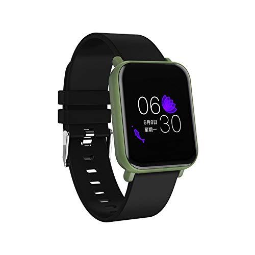 R6 Smart Watch Bluetooth 4.0 Schrittzähler Gesundheit Relogios Sport Smart Watch Anruferinnerung Herzfrequenz-blutdruckmessgerät Uhr,Blacksilicone