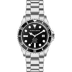 Marc & SonsMSD-044-B Professional Automatic Diver's WatchBGW9