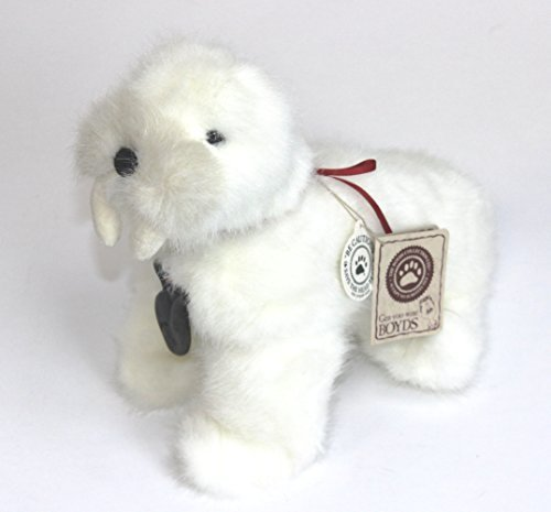 boyds-wally-fishbreath-white-walrus-plush-bean-bag-toy-by-jb-bean-associates