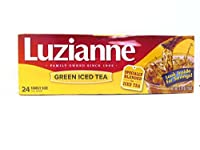 Luzianne Green Iced Tea Family Size, 24 Count