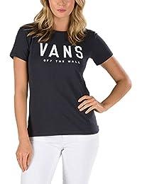 Vans Camiseta Double Fortune Phantom carbón blanco d347fa88bd2