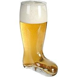 Vaso gigante de cerveza bota