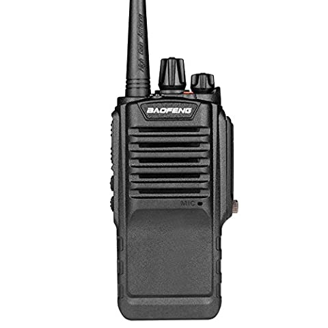 Mengshen® BaoFeng BF-9700 Dual Band imperméable Radio, 8W IP67 Waterproof Dustproof Walkie Talkie, UHF 400-520MHz, with High Gain Antenna, High-powered Big Power than others 2500mAh BF-9700 Ou