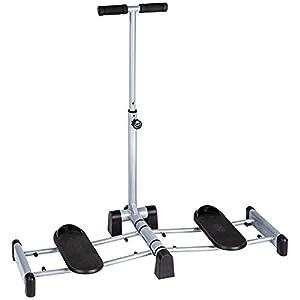 TecTake Beintrainer Bauch Beine Po Gesäßtrainer | stabile Stahlrahmenkonstruktion | klappbar
