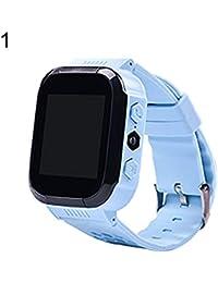 Slri Niños Reloj Inteligentes Pulsera Digital Llamada de teléfono de Pantalla táctil de Alarma fotografía localizador
