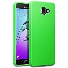 Coque 2016 Galaxy A5, Terrapin Étui Coque en Gel TPU pour Samsung Galaxy A5 2016 Housse - Solide Vert