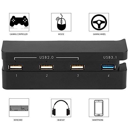 QUMOX USB 2.0/3.0 Extender 4 puertos hub divisor adaptador de alta vel