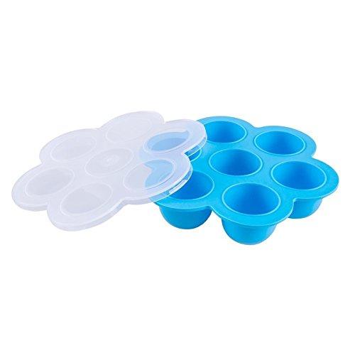 rmen für sofortige Topf Accessory, Silikon wiederverwendbar Container für Gemüse Obst und Babynahrung mit passt sofort Topf 5,6,8QT Schnellkochtopf Ice Cube Tablett (Gemüse-eis-behälter)